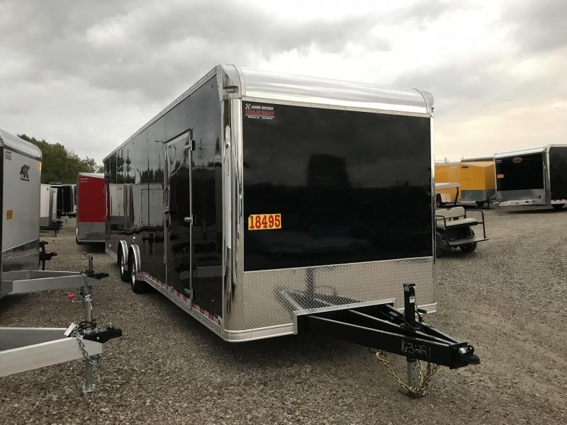 2019 United Trailer UXT 8.5x32 Enclosed Extra Height Carhauler....Stock#UN-163221
