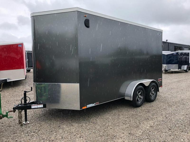 2019 Legend Manufacturing 7X16 EXTRA HEIGHT Enclosed Cargo Trailer....STOCK# LG-317969