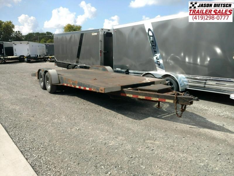 2008 Imperial 23' Open Car / Racing Trailer Stock# 2020
