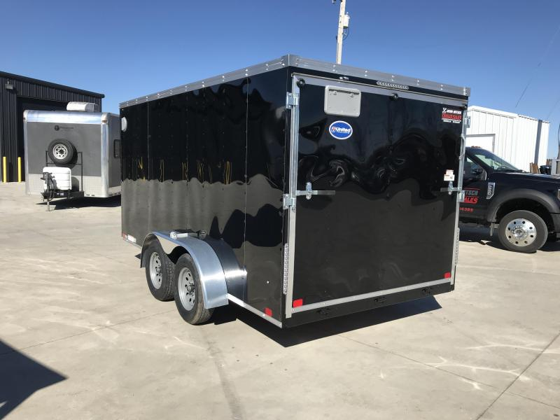 2019 United Trailers XLV 7x14 V-Nose Enclosed Cargo Trailer....Stock# UN-166152