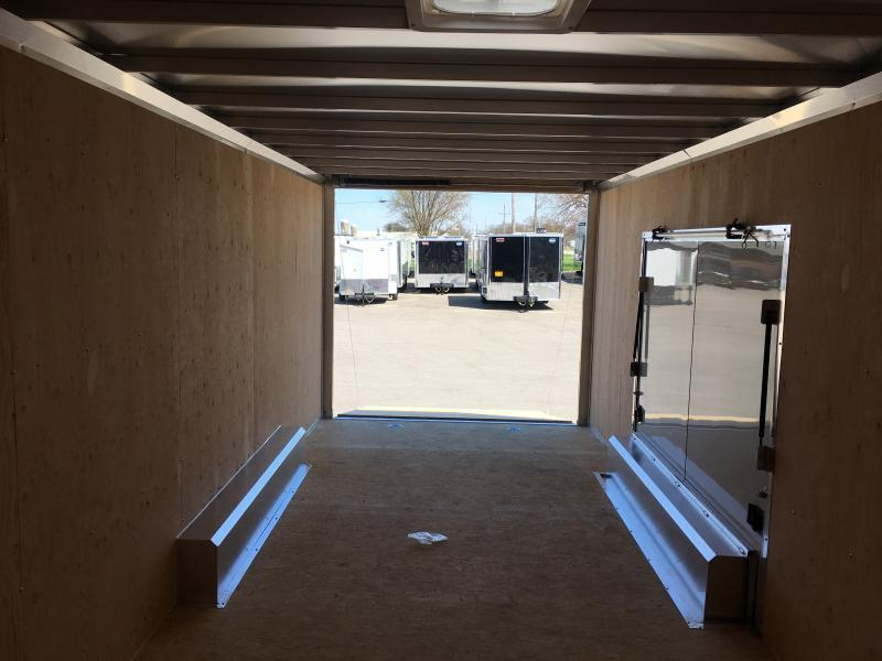 2018 ATC 8.5X24 Carhauler W/PREMIUM ESCAPE DOOR....STOCK # AT-9524