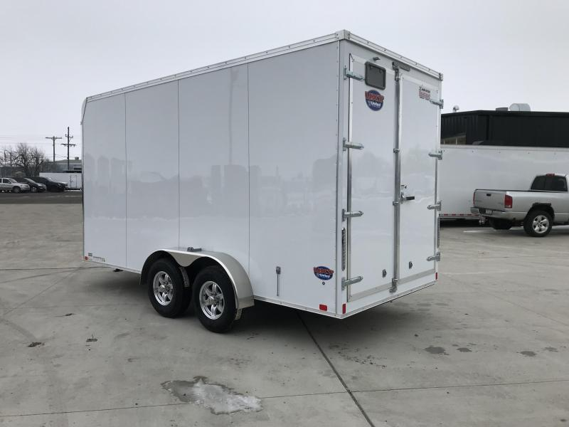 2019 United Trailers UXT 7X16 EXTRA HEIGHT Enclosed Cargo Trailer.... Stock# UN-166262