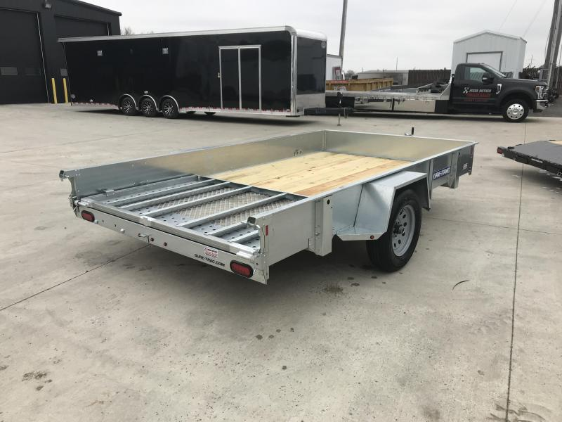 2019 Sure-Trac 7 x 12 Galvanized High Side....STOCK# ST-253411
