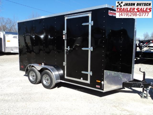 2018 RC Trailer 7x14 Wedge Nose W/Tandem Axle W/Extra Height.... Stock# 643917