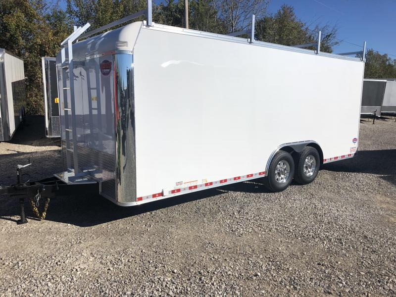 2019 United Trailer UXT 8.5x20 Enclosed Tool Crib Trailer....Stock#UN-164700