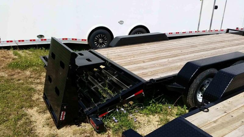 2017 SURE-TRAC 7X17+3 IMPLEMENT HD UNIV RAMP TRAILER.....Stock # ST-1412