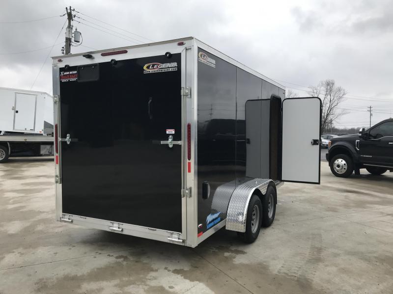 2019 Legend Manufacturing 7X16 TV Enclosed Cargo Trailer....STOCK# LG-1317327