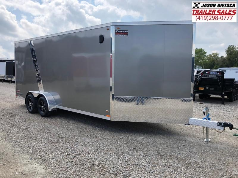 2019 Legend Manufacturing 7X23 EXPLORER EXTRA HEIGHT Snowmobile Trailer....STOCK LG-317321