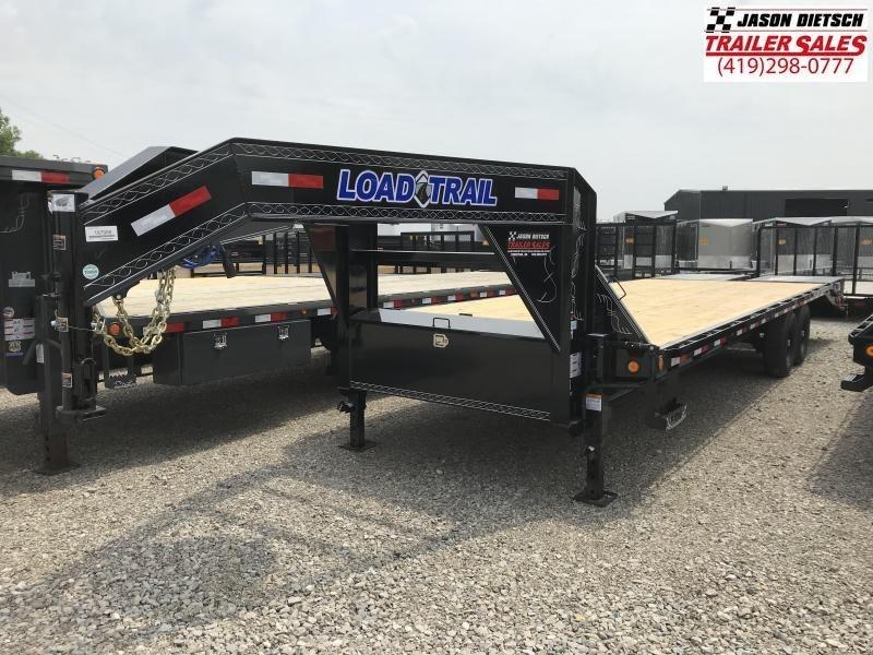 2018 Load Trail 102X28 Tandem Heavy Duty Gooseneck Equipment Trailer.... Stock# LT-167956