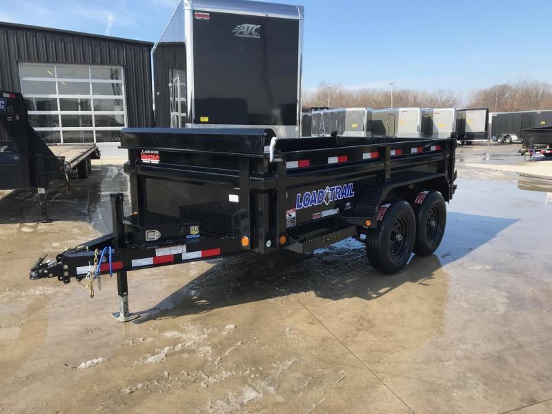 2019 Load Trail 72X12 Tandem Axle Dump Trailer....STOCK# LT-182625