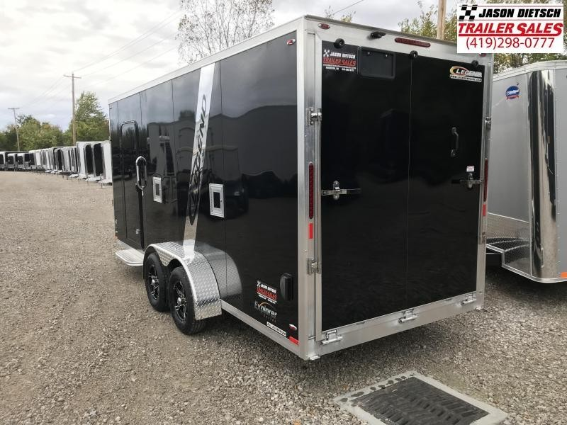 2019 Legend Manufacturing 7X23 EXPLORER EXTRA HEIGHT Snowmobile Trailer....STOCK LG-317336