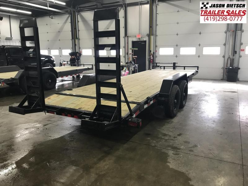 2019 Load Trail 83X20 Tandem Axle Carhauler Car / Racing Trailer....STOCK# LT-183060