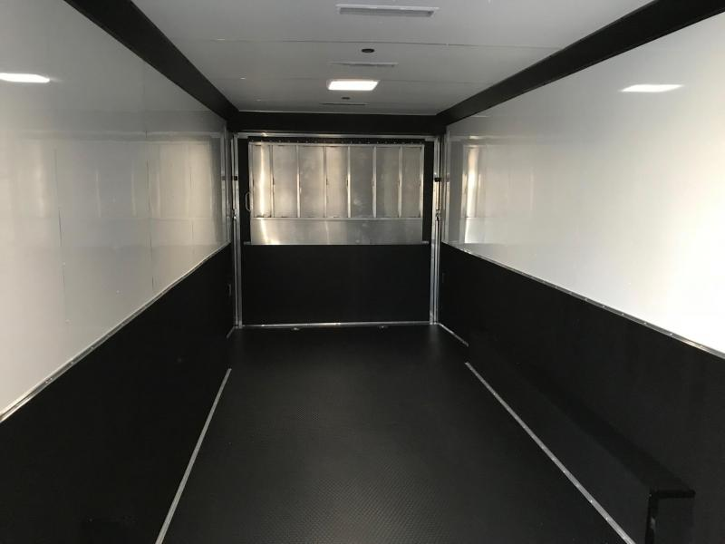 2019 United Trailers USHGN 8.5X36 Car / Racing Trailer STOCK# UN-165430