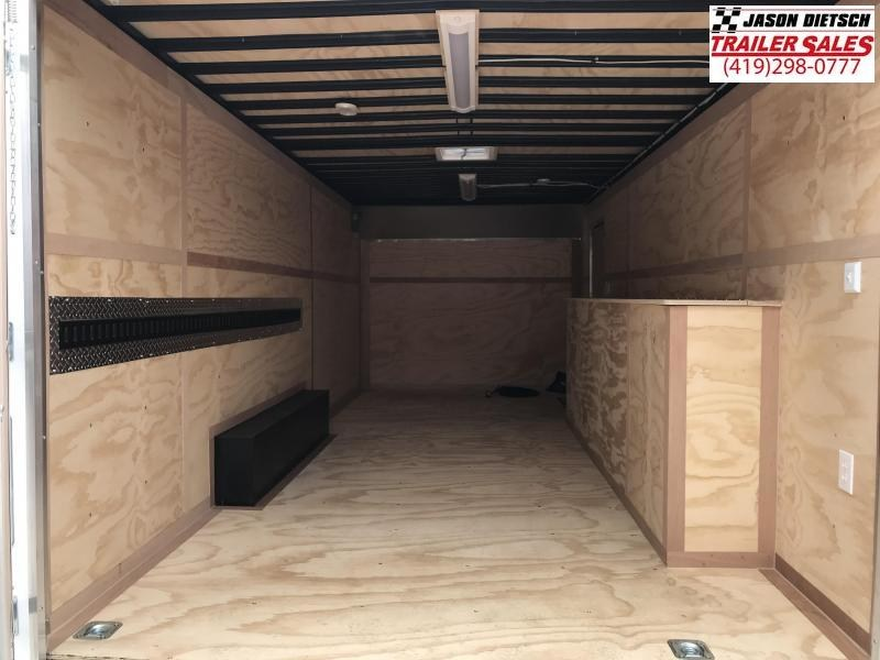 2019 United Trailer UXT 8.5x20 Enclosed Tool Crib Trailer....Stock#UN-167936