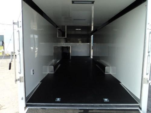 2017 ATC Quest 8.5X40 All Aluminum Gooseneck Car Hauler w / Extra Height
