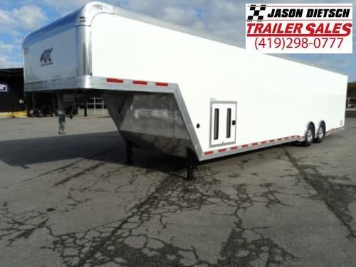 2018 ATC Quest 8.5X40 All Aluminum Gooseneck Car Hauler w / Extra Height