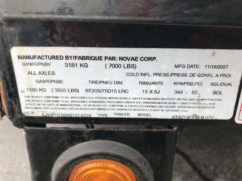 2008 Sure-Trac 82x18 Car Trailer