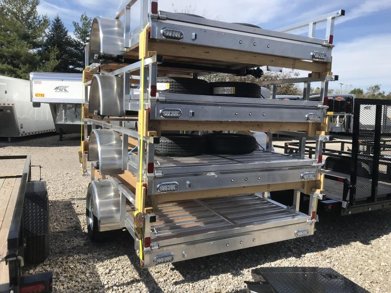2019 ATC 6x12 All Aluminum Utility Trailer....Stock#AT-216359