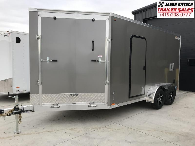 2019 Legend Manufacturing 7X19 EXTRA HEIGHT Snowmobile Trailer....STOCK LG-317217