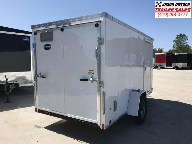 2020 United XLV 6X12 V-Nose Slant Enclosed Cargo Tr....Stock# UN-168472