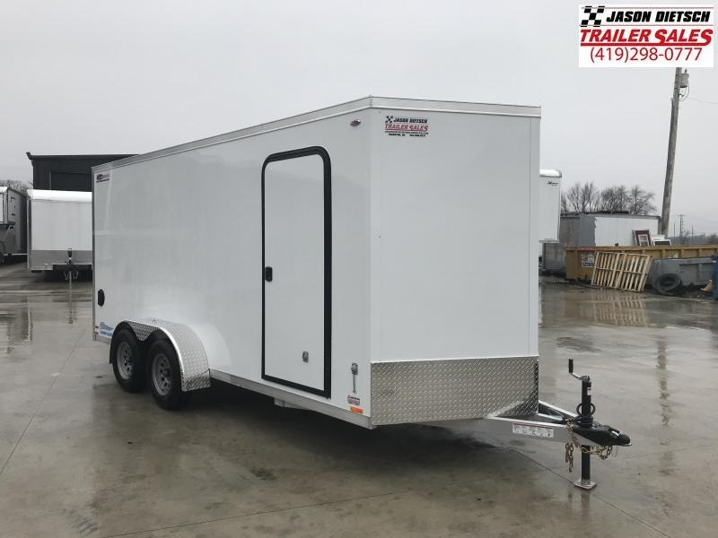 2019 Legend Manufacturing 7X18 TV Enclosed Cargo Trailer....STOCK# LG-317334