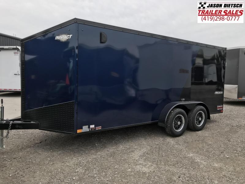 2019 Impact Trailers 7x16 Enclosed Cargo Trailer....IMP000946