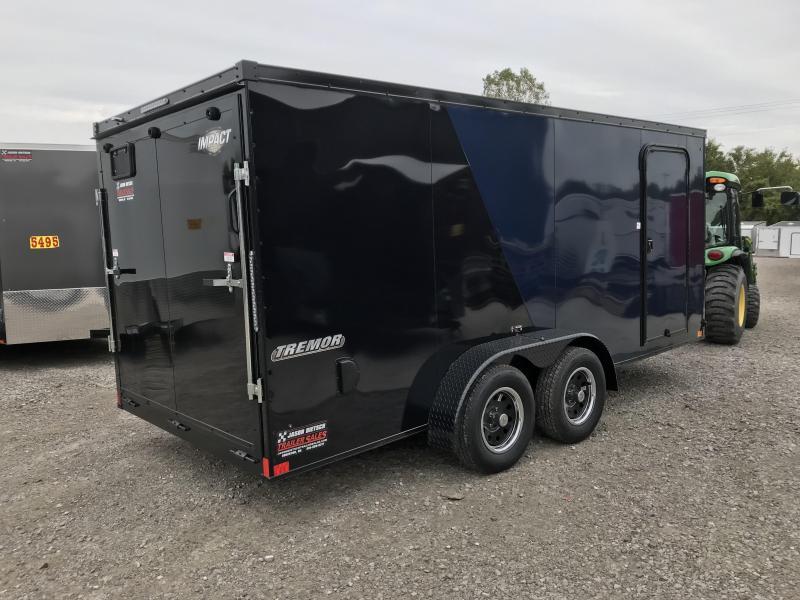 2019 Impact Trailers 7x16 Enclosed Cargo Trailer....IMP000946