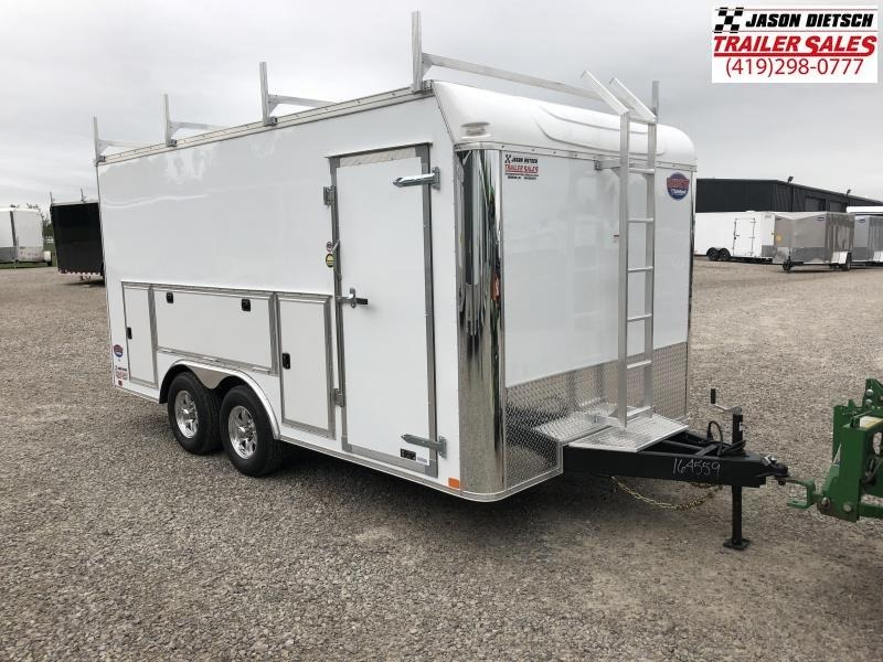 2020 United Trailers UXT 8.5x16 Enclosed Tool Crib Trailer....Stock # UN-169654