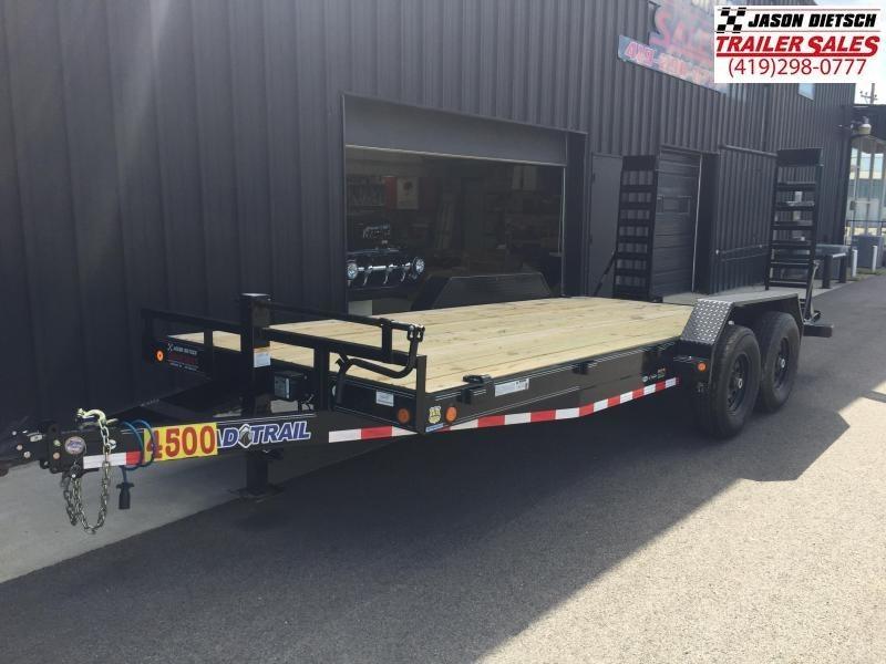 2019 Load Trail 83x18 Equipment Trailer....STOCK# LT-183763