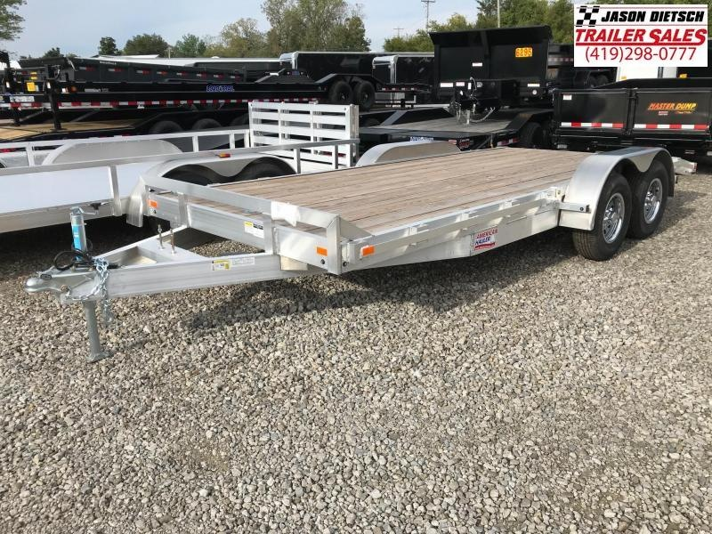 2018 American Hauler Industries 8X18 Equipment Trailer....STOCK # AH-066229
