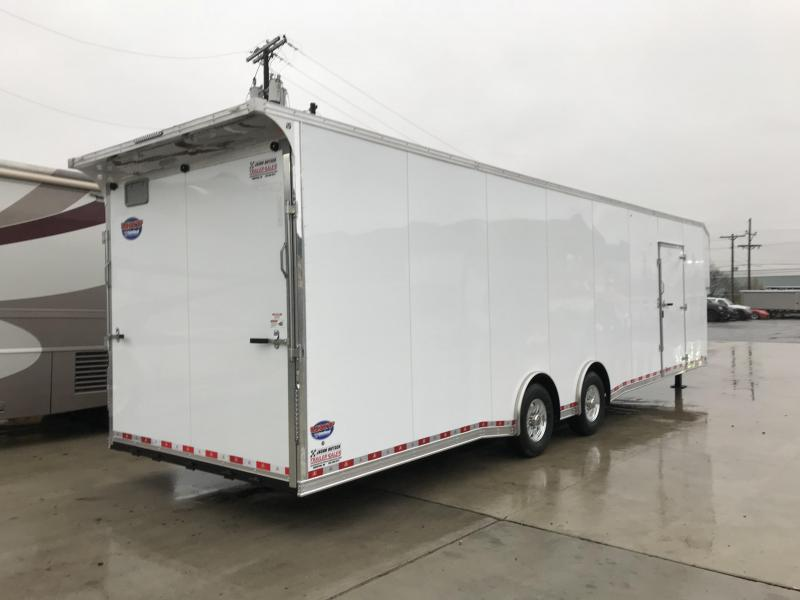 2019 United Trailers 8.5X40 EXTRA HEIGHT Car / Racing Trailer....STOCK # UN-165288