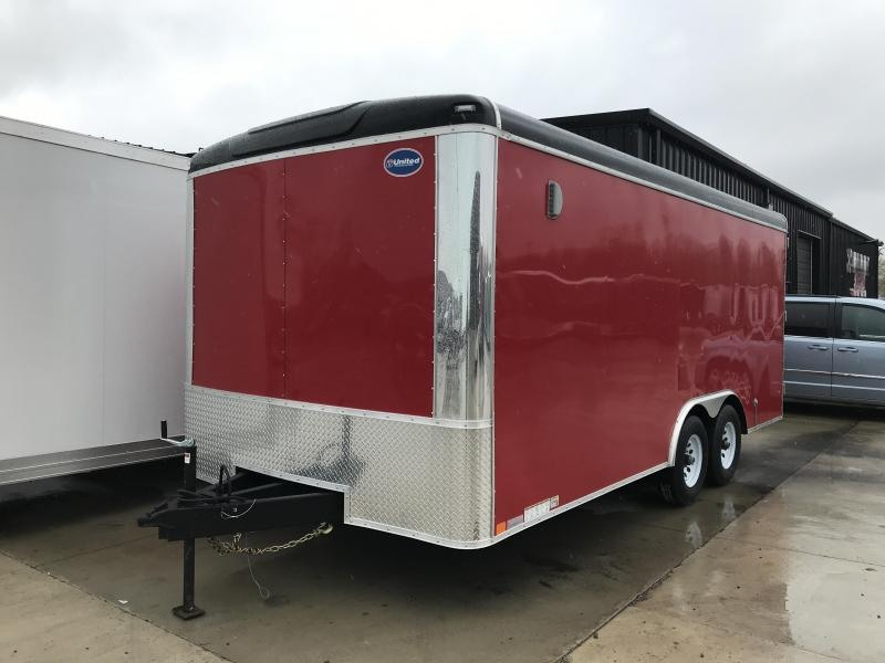 2019 United Trailers ULT-8.518TA50-S Enclosed Cargo Trailer