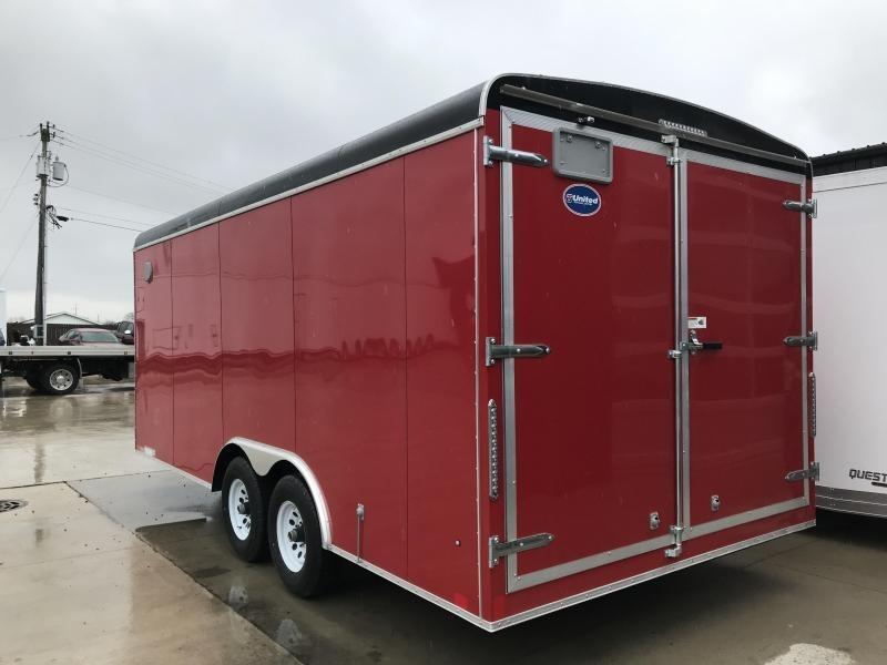 2019 United Trailers ULT-8.518TA50-S Enclosed Cargo Trailer