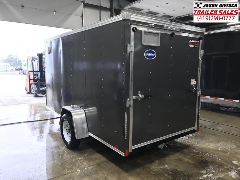 2020 United XLV 6X12 V-Nose Slant Enclosed Cargo Tr....Stock# UN-168473