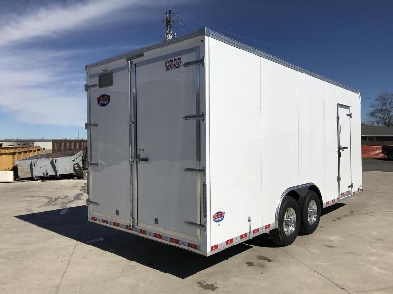 2019 United Trailer UXT 8.5x20 EXTRA HEIGHT Enclosed Trailer....Stock#UN-168018