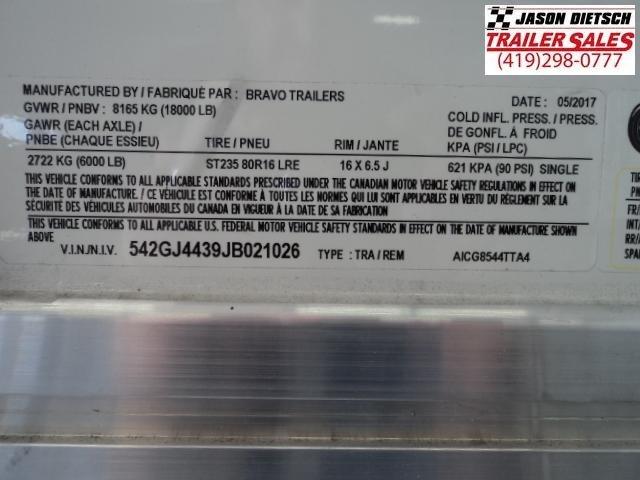 2018 Bravo Trailers 8.5x44 Aluminum Icon Enclosed Gooseneck Trailer....Stock# BR-21026