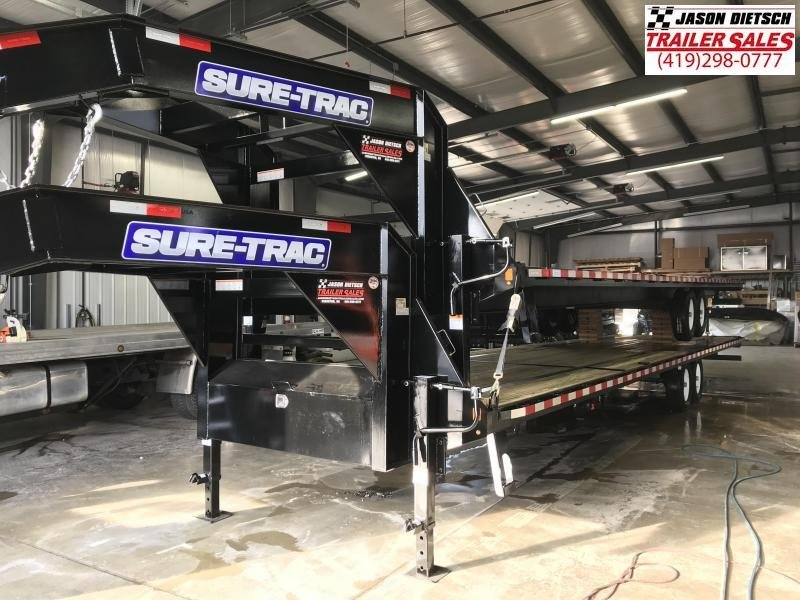 2019 Sure-Trac 8.5x36 LowPro Deckover Tandem GN 15K....STOCK# ST-254389