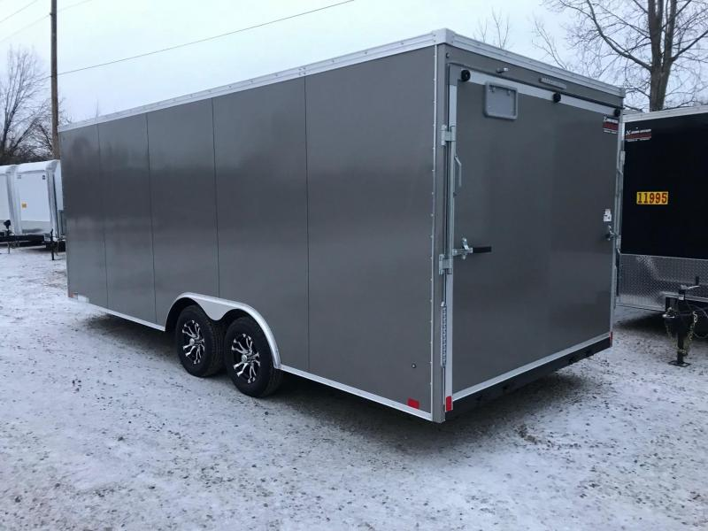 2019 United Trailers XLTV 8.5x19 Wedge-Nose Enclosed Car Hauler....Stock # UN-164684