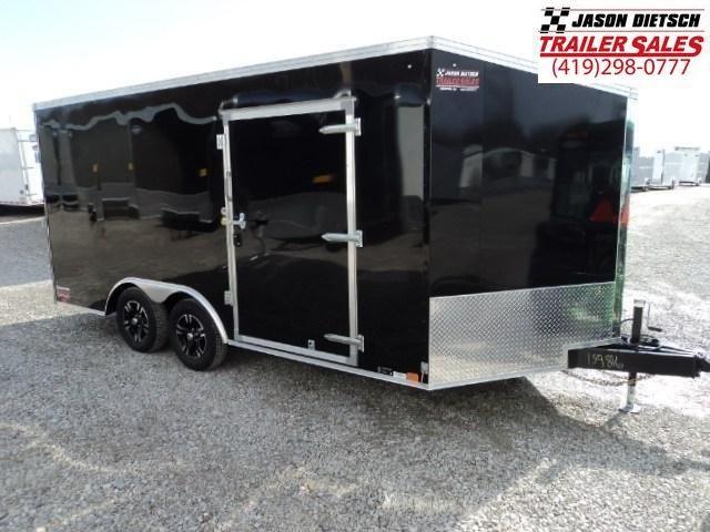 2019 United Trailers XLTV 8.5x19 Wedge-Nose Enclosed Car Hauler....Stock # UN-159818