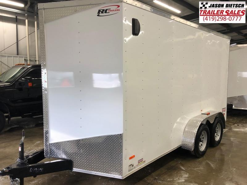 2019 RC Trailer 7x14 EXTRA HEIGHT....STOCK# RC-649854