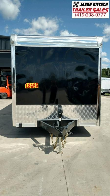 2020 United Trailer GEN#4- 8.5x28 Extra Height Enclosed Race Trailer....Stock#UN-166205
