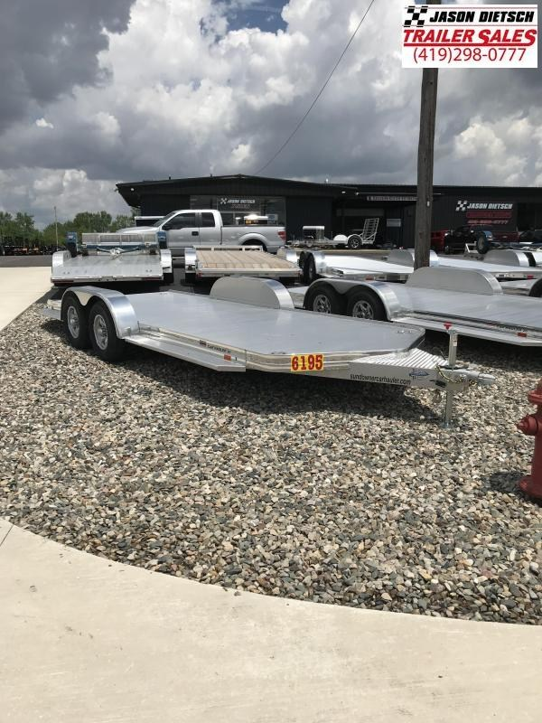 2018 Sundowner 6.9X19 Sunlite Car Trailer.... STOCK# SD-7210