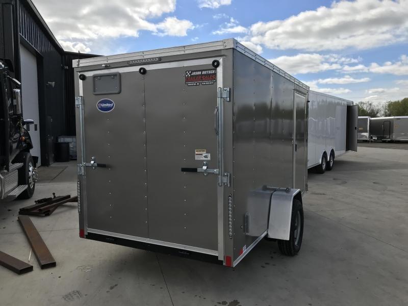 2020 United XLV 6X12 V-Nose Slant Enclosed Cargo Tr....Stock# UN-168479