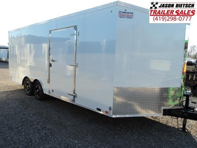 2018 United Trailers XLTV 8.5x23 Wedge-Nose Enclosed Carhauler....Stock # UN-159855