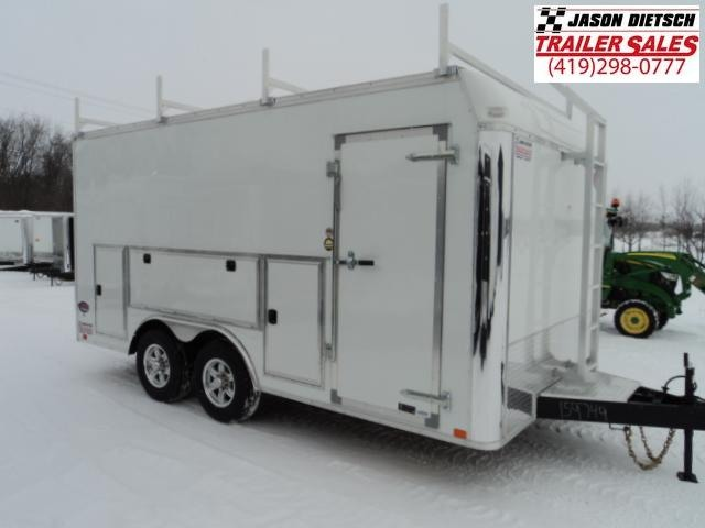 2018 United Trailers UXT 8.5X16 - 5200 lb. Tandem Axle Enclosed Cargo Trailer STOCK- 9749