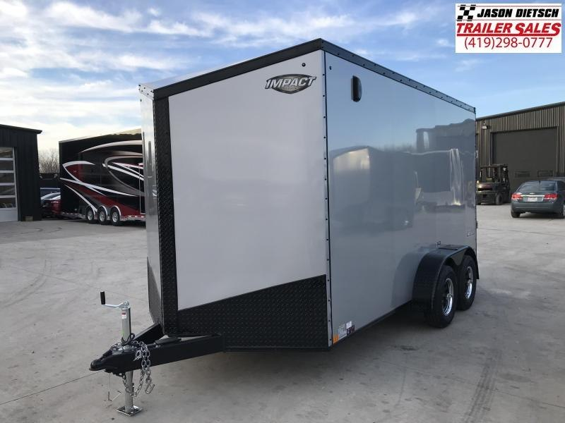 2019 Impact Trailers 7x14 EXTRA HEIGHT Enclosed Cargo Trailer....IMP001481