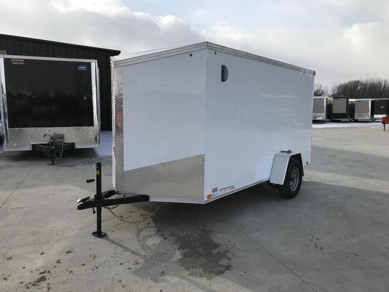 2019 United XLV 6X12 V-Nose Slant Enclosed Cargo Tr....Stock# UN-166133