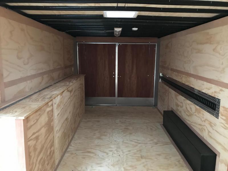 2019 United Trailer UXT 8.5x20 Enclosed Tool Crib Trailer....Stock#UN-166053