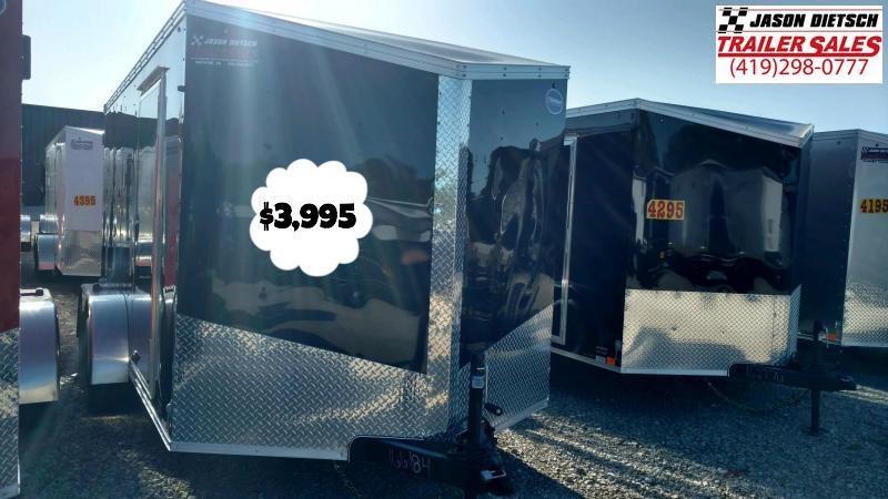 2020 United Trailers XLV 7x14 V-Nose Enclosed Cargo Trailer....Stock# UN-166184