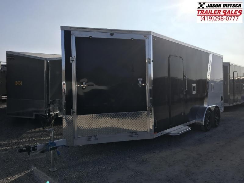 2019 Legend Manufacturing 7X23 EXPLORER EXTRA HEIGHT Snowmobile Trailer....STOCK LG-317370